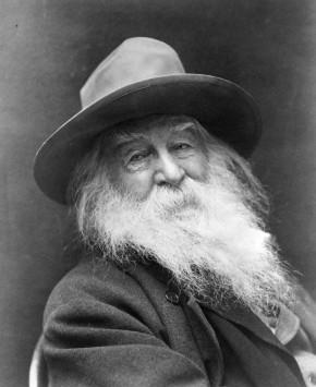 Ricordare Whitman con una riscrittura su Pinterest, da oggi fino al 31maggio